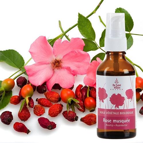 Huile végétale rose musquée bio - distillerie st Hilaire
