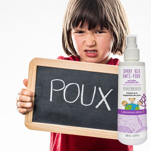 Spray anti poux bio