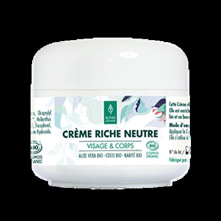 Crème riche neutre