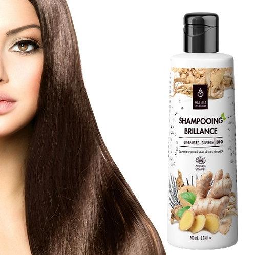 Shampooing brillance bio - gingembre/ginseng