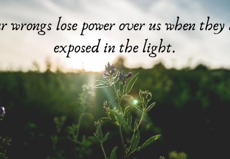 Darkness into Light: Healing in Discomfort