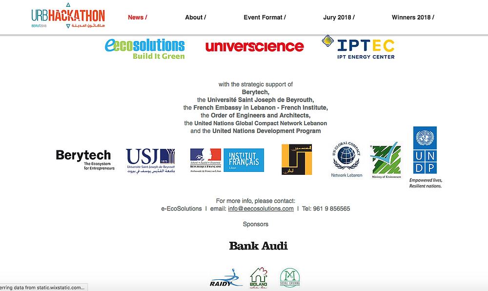 Urb-Hackathon Lebanon