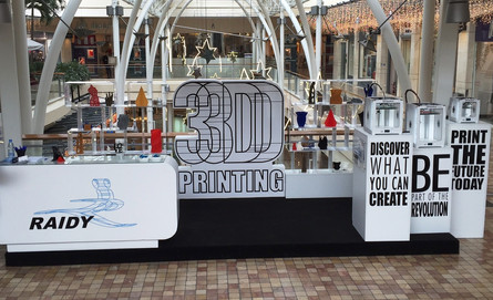 RAIDY 3D pop-up store at ABC mall
