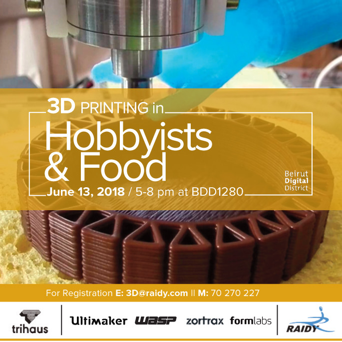 3D Printing for Hobbyists & Food