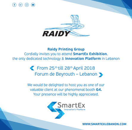 Join us at SmartEx Exhibition!