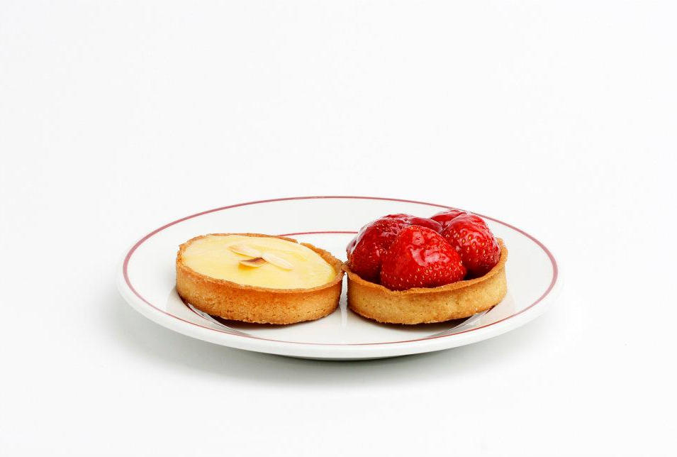 The Lemon & Strawberry Pie