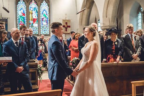 A wedding at St George's Church