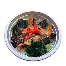 SABA DON (GRILLED MACKEREL BOWL) 焼き鯖丼