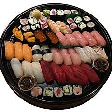 EXTRA SPECIAL SUSHI& ROLLS PLATTER 特上にぎり寿司30貫,巻き寿司12ピース盛合せ