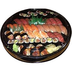REGULAR SUSHI & ROLLS PLATTER 並にぎり寿司25貫,巻き寿司12ピース盛合せ
