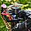 Thumbnail: Trenza para casco Negro y Rubio