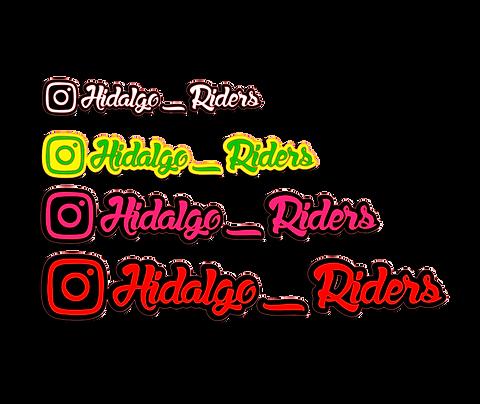 Instagram Stickers x2 (2 Colours)