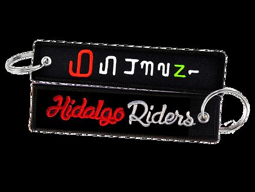 Llavero Moto 1N23456 HidalgoRiders