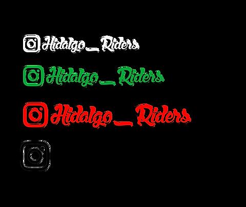 Instagram Stickers x2 (1 Colour)