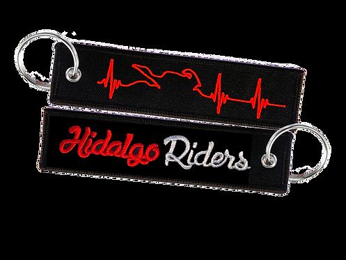 Llavero Moto Cardio HidalgoRiders