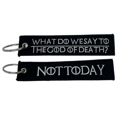 Not Today Keychain