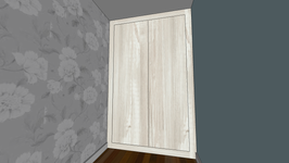 Wardrobe - Pic 4 (Cascina pine doors and