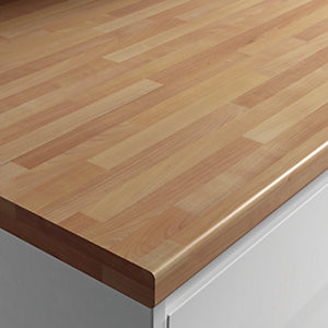 Postformed Worktop - Butchers Block Cher