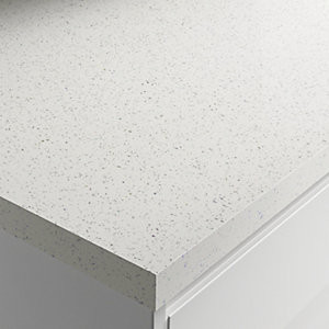 Square Edged Worktop - High Gloss White