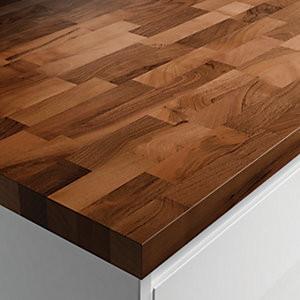 Solid Wood Worktop - Walnut