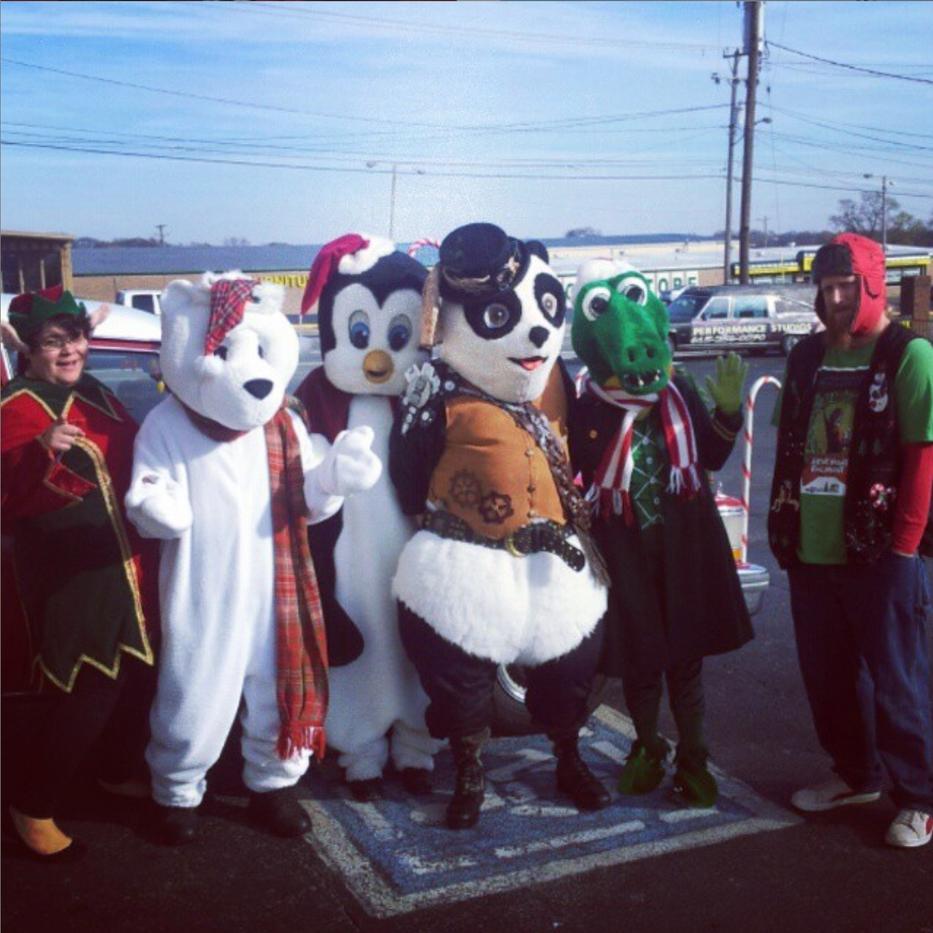Berry Hill Holiday Parade