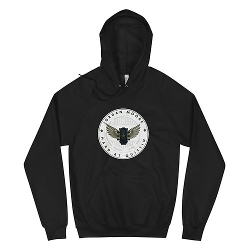 HARD AT QUITTIN' - Deluxe Unisex Hoodie