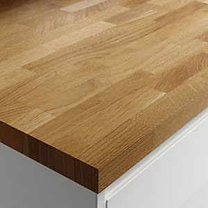 Solid Wood Worktop - Classic Oak