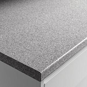 Postformed Worktop - Granite Grey