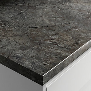 Postformed Worktop - Black Slate