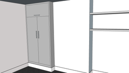 Wardrobe (WITH DOORS & TOP BOX) Pic 2.pn