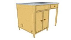 Sink Unit - Design 2 with logo (no plint
