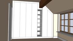 Wardrobes (Doors - Open Shelving) Pic 1.