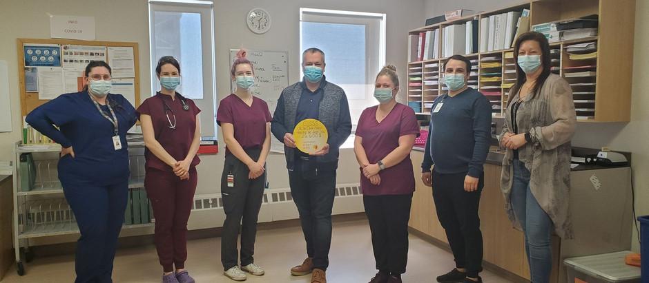 Opération Enfant Soleil remet 26 600$ au service de pédiatrie de l'Hôpital de Sept-Îles