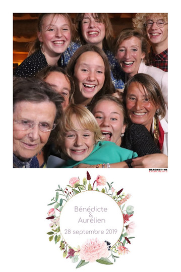Famille photobooth mariage