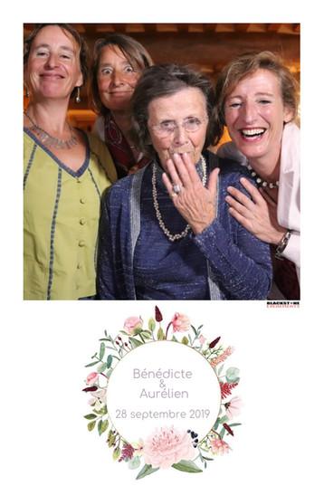 personnes âgées photobooth mariage