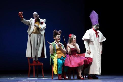 Rosina - Il Barbiere di Siviglia - Rossini - Teatro al Maggio Fiorentino 2015