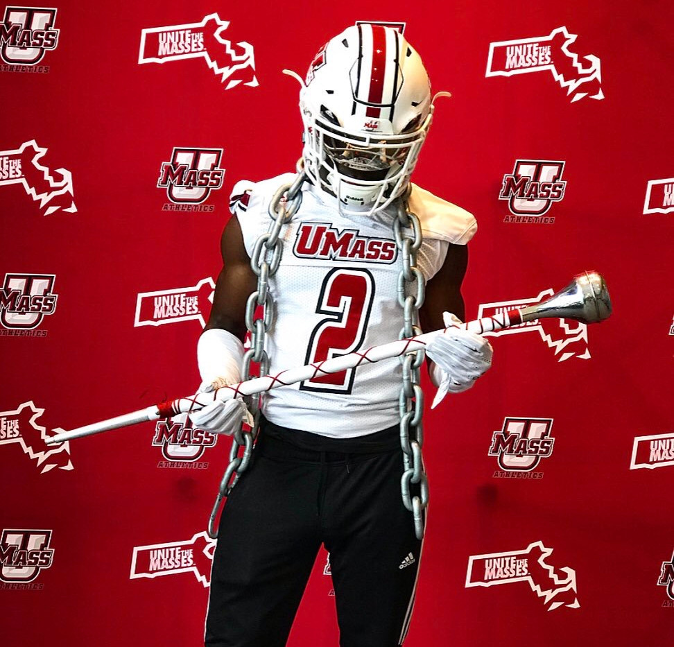 DB Carl Decius at UMASS