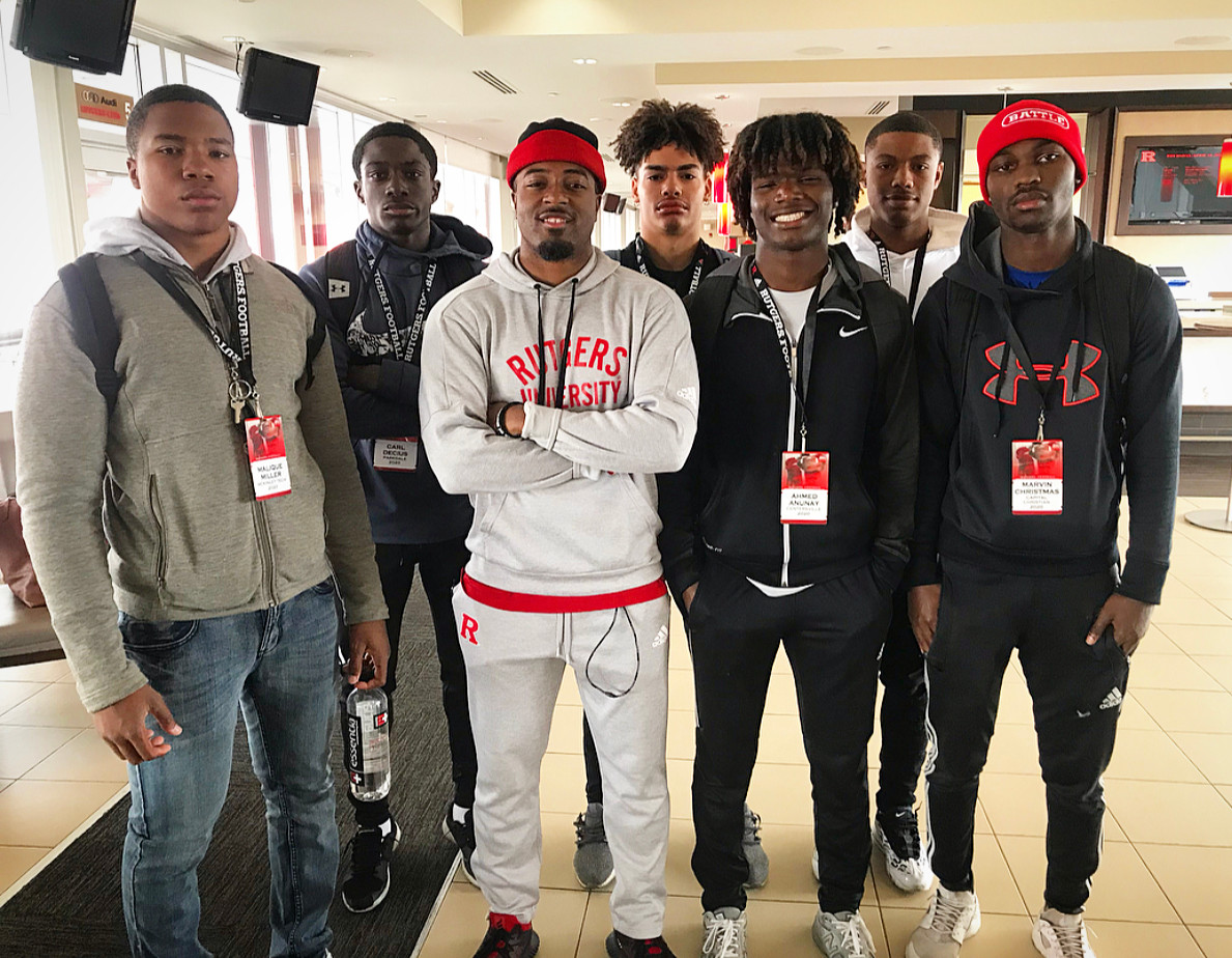 Our Athletes with Rutgers Defensive Back