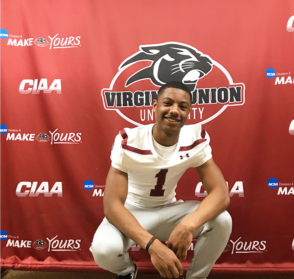 Damien Partee Jr. at Virginia Union Univ