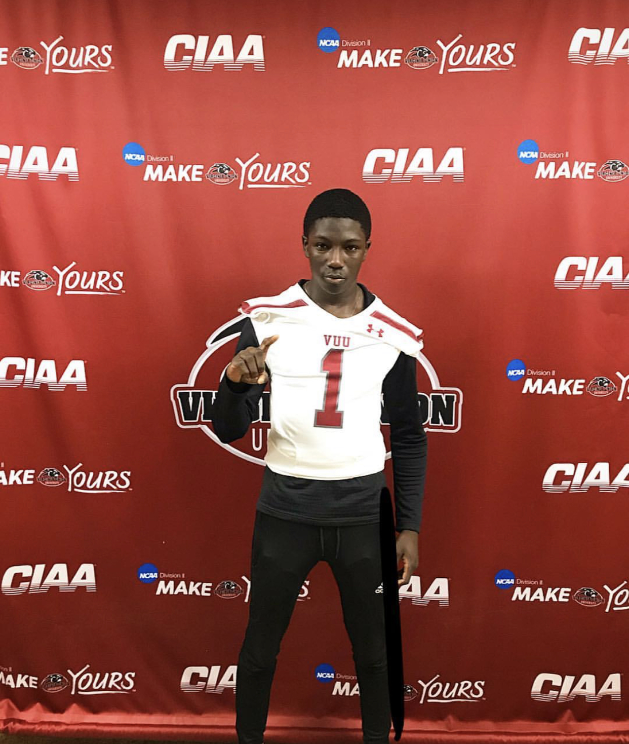 DB Mike Kamara Virginia Union University
