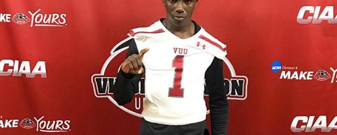 DB Mike Kamara Virginia Union University