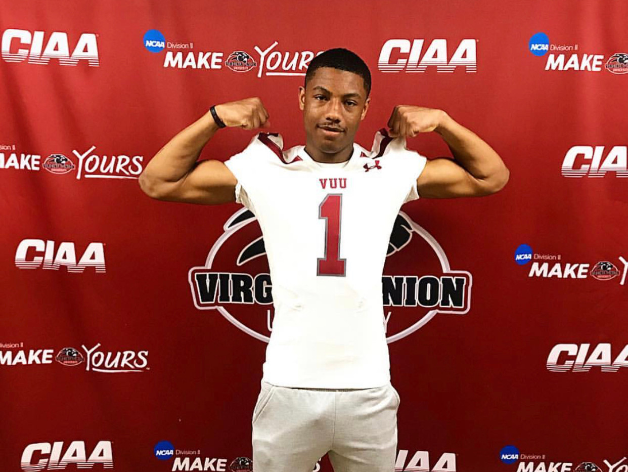 ATH Damian Partee Jr. Virginia Union Uni