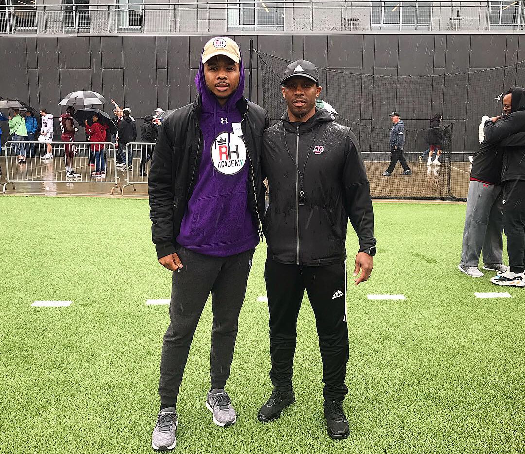 Coach Aaron with Coach Aazaar at UMASS