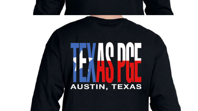 Texas PGE long sleeves T-shirt