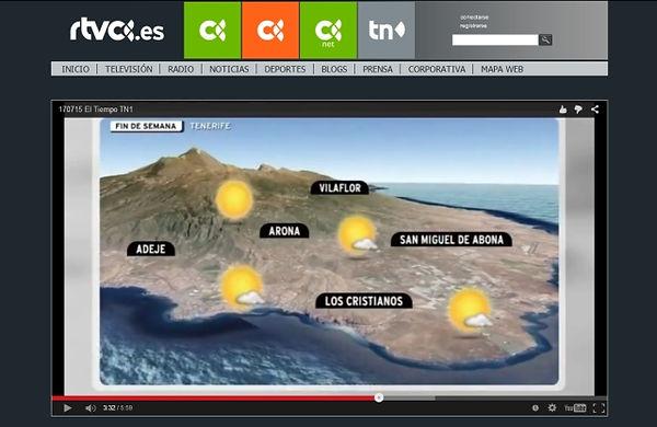 Prognoza pogody Teneryfa