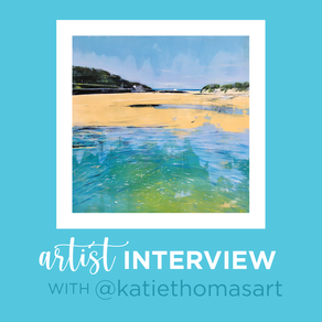 Interview with Artist, Katie Thomas