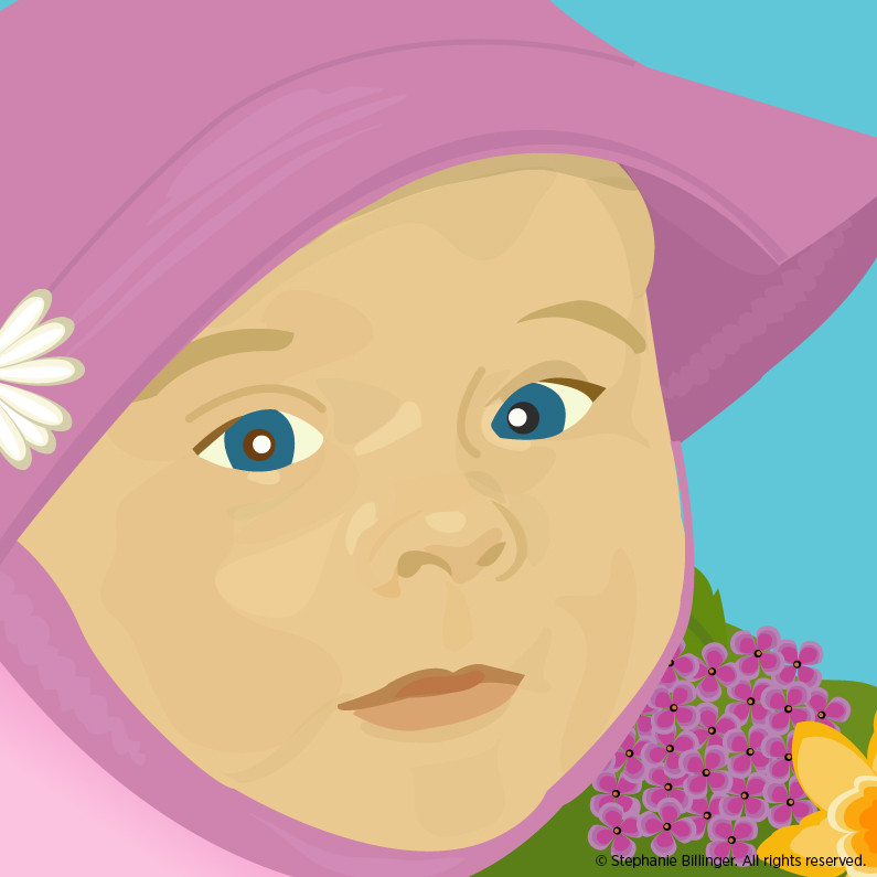 Baby - Personal Illustration by Stephanie Billinger
