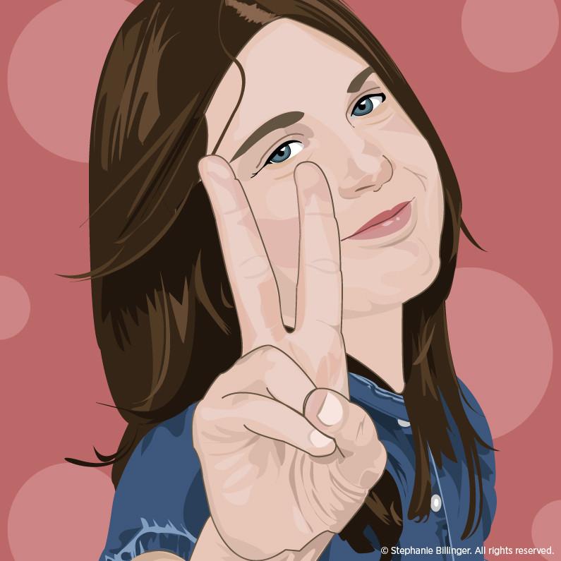 Jenna Illustration - Client Project by Stephanie Billinger