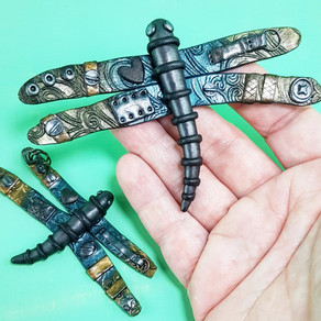 Dragonflies from Darkness and Whimsy