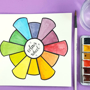 Let's Paint a Colour Wheel!